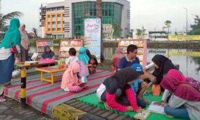 Bangkitkan Gairah Membaca, SD Muhammadiyah 2 GKB Buka Perpustakaan Keliling