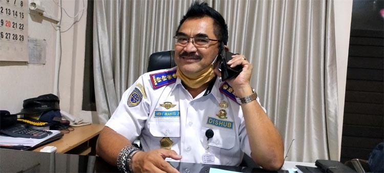 Sekretaris Dishub Gresik Hery Wahyu Riyanto