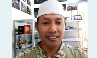 Ketua Komunitas Wartawan Gresik (KWG), Syuhud Almanfaluty