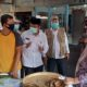 Wakil Bupati Gresik Dr. Mohammad Qosim saat sidak langsung ke pasar Balongpanggang