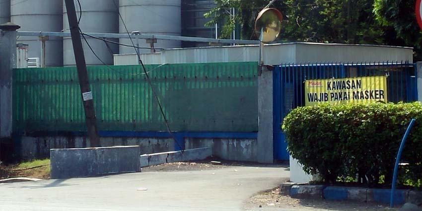 Ruang isolasi mandiri pasien Covid-19 PT. Miwon Indonesia